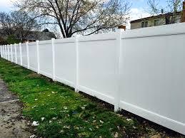 Vinyl privacy fence Grey Vinyl Fencing Paramount Fence Paramount Fence Vinyl Fence Installation In Michigan