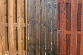 Cedar Stain Fence Bathroomwallcabinet Co