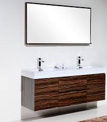 Modern double sink vanity Master Bedroom Next Bliss 60 Kubebath Bliss 60