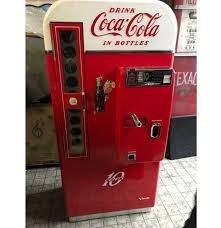 Vintage Coke Vending Machine Fascinating CocaCola Vendo 48 Restored Coke Vending Machine FiftiesStore