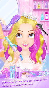 salon games hair fashion s makeup dressup and makeover games screenshot 4 barbie