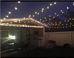 50ft g40 globe string lights with 50 clear