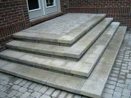 diy paver patio steps great install patio steps on wonderful furniture decoration room with install patio