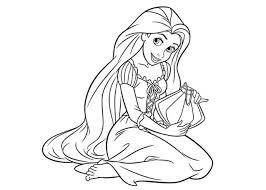 Princess Color Page Vitlt Com