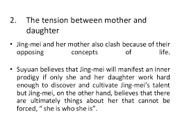 two kinds essay relationships between her and mother the relationship between a mother and daughter in two kinds by
