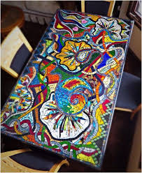 diy tile table top inspirational mosaic tile patterns for tables fortable 57 awesome diy mosaic