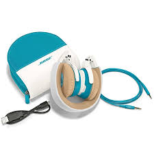 bose soundlink blue. bose soundlink oe white/blue headphones blue (