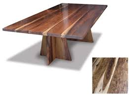Wood dining tables Large Trendir Exotic Wood Dining Tables By Costantini Design