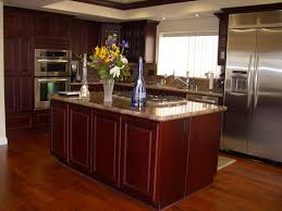 Small Picture Cherry Walnut Kitchen Cabinets Home Design Traditional Kitchen