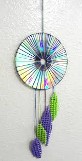 What Is A Dream Catcher Used For Dream Catcher Inspired CD Wall Decor Upcycle Shed 56