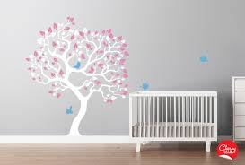 Small Picture Modern Kids Wall Decor Best Decoration Baby Girls Nursery Tree