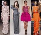 Модные платья с рюшками 115