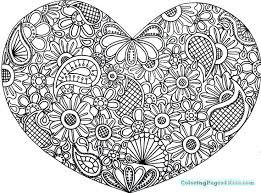 mandala coloring pages kids heart mandala coloring pages fun color ideas for short hair