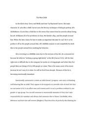 english essay the man child in the short story jerry and molly  4 pages english essay 2