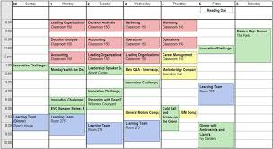 schedule weekly weekly schedule darden mba student blog