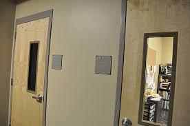 High School Classroom Door
