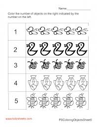 Kindergarten Counting Worksheets Sequencing To 25 For Pdf Practice ...