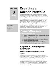 career portfolio doc mittnastaliv tk career portfolio 23 04 2017