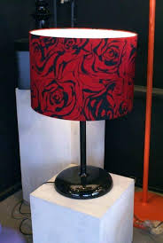 red lamps red lamps black and red lamp shades black and red lamp