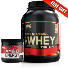 optimum nutrition gold standard 100 whey protein 2 27kg free gift