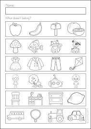 Homework Pages For Kindergarten Worksheets Image 2 Math Homework ...