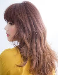 14トーンのベリーピンクベージュhy50 ヘアカタログ髪型ヘア