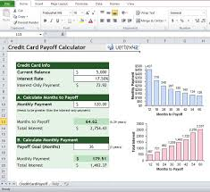 credit card payoff calculator excel 51 best excel templates images on pinterest templates microsoft