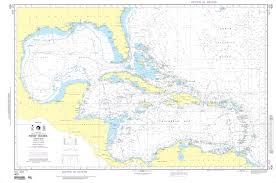 Mexico Navigation Charts Nga Nautical Chart 400 West Indies