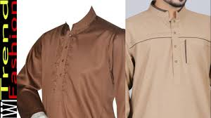 Mens Kameez Collar Design Stylish Fashion Gents Kameez Collar Designs Men Collar