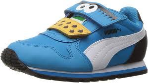Elmo Light Up Shoes Amazon Com Puma Kids Sesame Str St Runner Cm Hoc V Ps