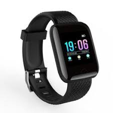 116 Plus Color Screen Smart Wristband Real-time Heart Rate ... - Vova
