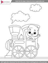 These train coloring pages to print will surely make things easier for both of you. Train Coloring Pages For Toddlers Train Coloring Pages For Kids In 2020 Bear Coloring Pages Train Coloring Pages Teddy Bear Coloring Pages