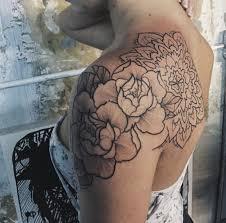 тату на плече роза Tattoos тату тату на плече и татуировки