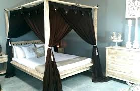 Bed Frame With Curtains Bed Frame With Curtains Curtain Over Bed ...