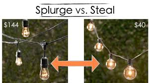 patio lights string ideas. Steal - Patio String Lights Ideas