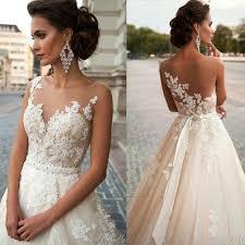discount vintage arabic blush wedding dresses 2016 lace bridal
