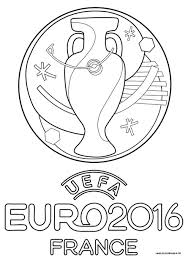 Logo Officiel De L Euro 2016 Euro 2016 Pinterest Coloriage