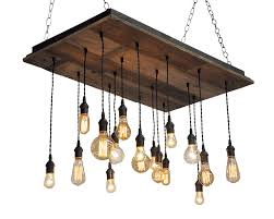 wood chandelier lighting. Delighful Wood 17 Light Reclaimed Wood Chandelier And Lighting