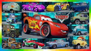 cars movie characters. Interesting Movie CARS 2 Movie Characters  All Cars From THE MOVIE Disney   YouTube With R