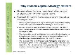 Effective Employee Management Strategy Gorgeous Heckelman Developing An Integrated Human Capital Strategy