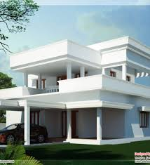 Small Picture Contemporary Flat Roof House Kerala Home Design And Home Roof