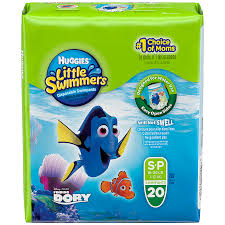 Huggies Little Swimmers Small 20s