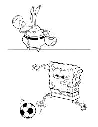 Spongebob Kleurplaat Tv Series Kleurplaat Animaatjesnl