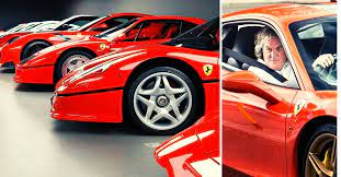 Jeremy, richard and james get bored (series 21, episode 3) Check Out James May S Stunning Collection Of Ferraris Hotcars