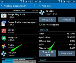 can t move apps to sd card on android