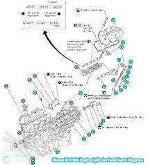 nissan frontier cylinder head parts diagram vg33er engine 2001 nissan frontier cylinder head parts diagram vg33er engine