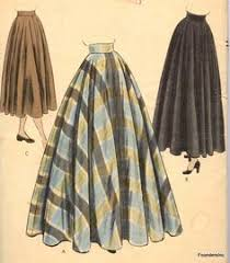 Long Skirt Patterns Adorable 48 Best Vintage Patterns Images On Pinterest Vintage Fashion