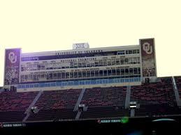 Oklahoma Memorial Stadium Seating Chart Owen Field Oklahoma Memorial Stadium Gaylord Family