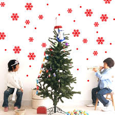 Christmas Decorations For The Wall Wall Window Stickers Snowflake Christmas Xmas Vinyl Art Decoration