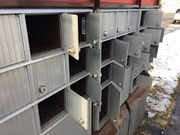 open residential mailboxes. Open Residential Mailboxes. Several Mailboxes In This Canada Post Block  Appear To Have Been Pried R